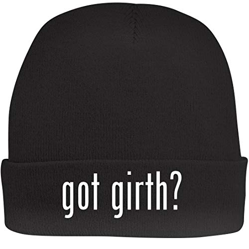 Shirt Me Up got Girth? - A Nice Beanie Cap, Black, OSFA ()