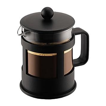 Bodum kenya Kaffeebereiter French Press System Permanent Edelstahl-Filter 05 ...