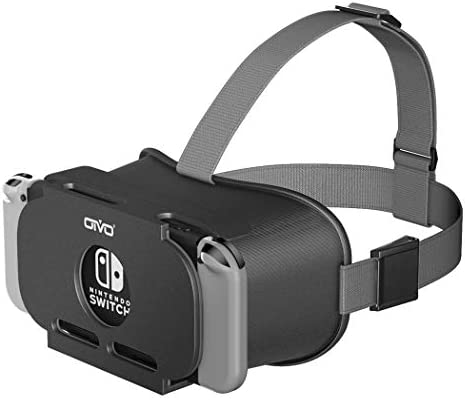 VR Headset Compatible with Nintendo Switch, OIVO three-D VR (Virtual Reality) Glasses, Labo Goggles Headset for Nintendo Switch