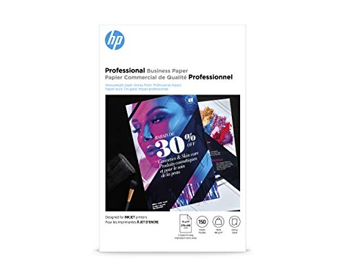 HP Professional Business Paper | GLOSSY Inkjet | 11x17 | 150 Sheets / - Paper Glossy Hp Brochure