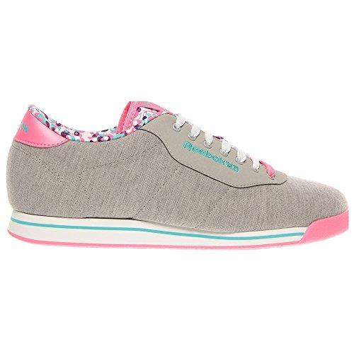 Reebok Women S Princess Material Lace Up Fashion Sneaker