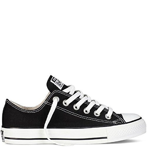 Converse Unisex Chuck Taylor All Star Ox Low Top (Black/White) Sneakers – 10 B(M) US Women / 8 D(M) US Men