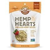 #4: Manitoba Harvest Hemp Hearts Raw Shelled Hemp Seeds, Natural, 1 Pound (Pack of 2) MvWi^s