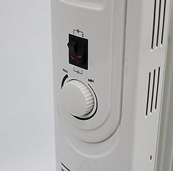 Aceite Radiator 1100 W Radiador Eléctrico calefactor de (hd967: Amazon.es: Hogar