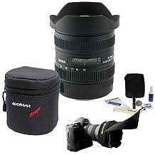 Sigma 12-24MM F/4.5-5.6 II DG HSM Autofocus Lens Bundle for Canon EOS, #204-101