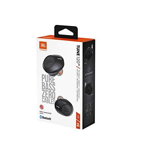 JBL Tune 120TWS – True Wireless in-Ear Headphone – Black