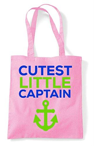 Captain Bag Light Pink Cutest Little Tote Shopper UqnAxZ5P