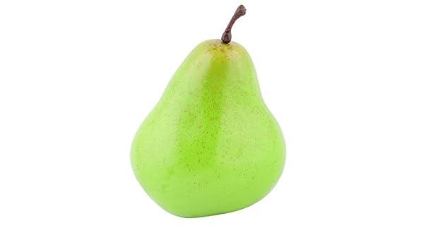 Amazon.com: eDealMax espuma Artificial pera Diseñado emulación de frutas apoyo de la foto decorativo Verde del molde: Home & Kitchen