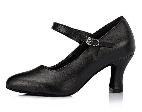 TDA - Sandalias con cuña mujer 7cm Heel Black