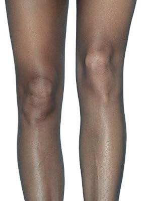 Leg Avenue Women's Lace Waist Sheer Garter Pantyhose