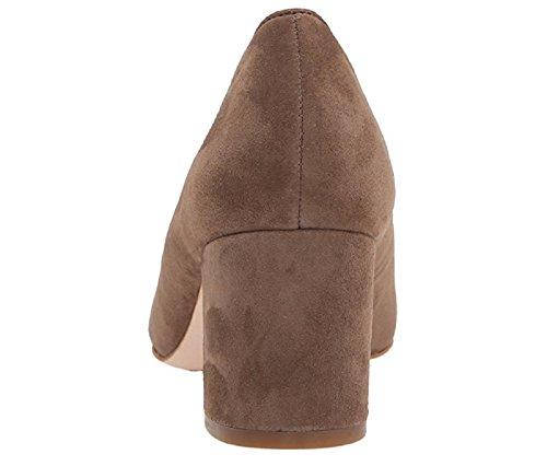 Corso Como Womens Regina Dress Pump, Taupe Suede, 5 M US
