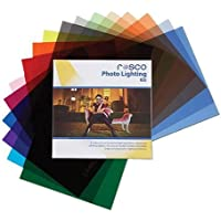 Rosco Photo Lighting Filter Kit, 12 x 12 Sheets