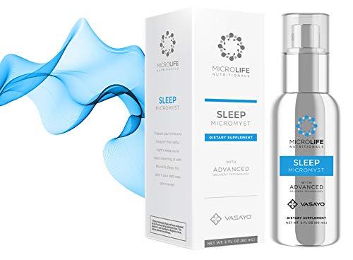 Vasayo Microlife Sleep Micromyst Dietary Supplement 2oz (Pack of Four) by Vasayo (Image #3)