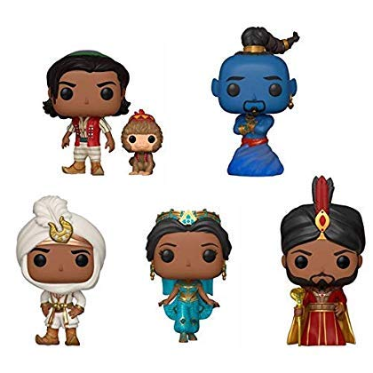 Funko Pop! Disney: Aladdin Live Action Collectible Vinyl Figures, 3.75