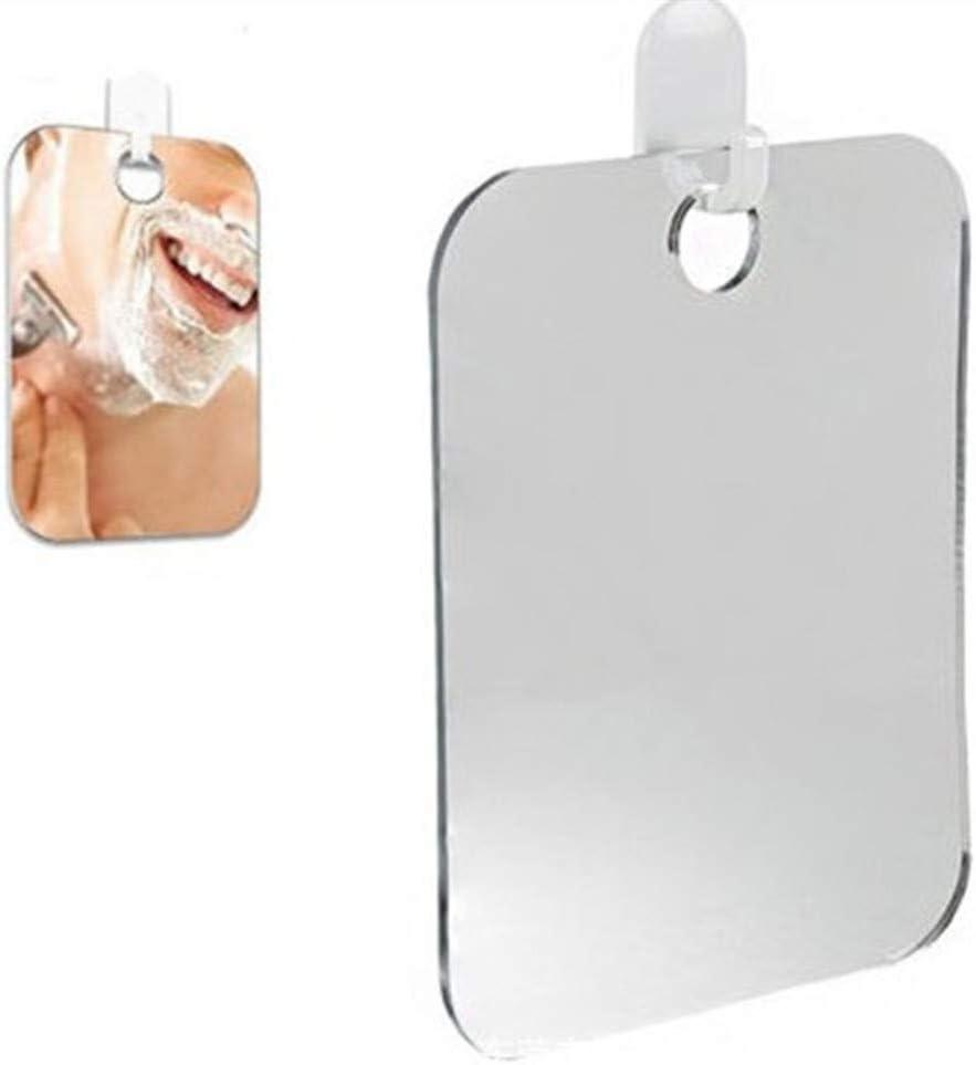Ideal para afeitarse o peinarse Dentro de su ba/ño Espejo ba/ño,STRIR Espejo Deluxe para Ducha Que no se Empa/ñ,Espejo para Ducha