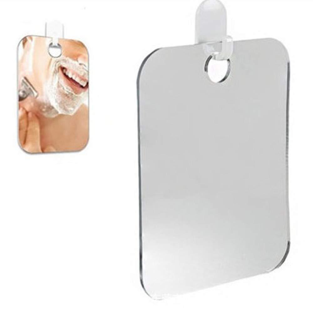 Elevin(TM) Anti Fog Shower Mirror Bathroom Fogless Fog Free Mirror Washroom Travel
