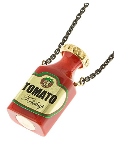 Q pot ketchup bottle necklace