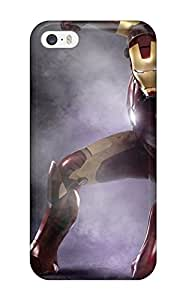 Best Iphone 5/5s Case Slim [ultra Fit] Iron Man Protective Case Cover