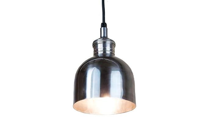 pib - Lámparas de techo - Lámpara plateada brillante de ...
