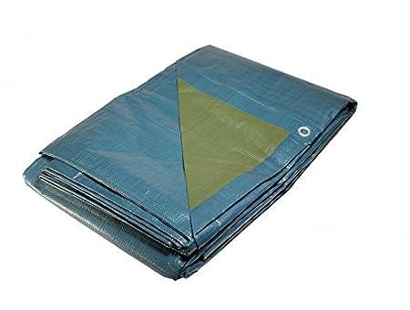 Lona para piscina de 150 g/m² - 8 x 12 m - Lona impermeable para cubrir la piscina: Amazon.es: Jardín