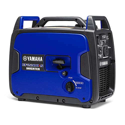Standard Yamaha Engine (Yamaha EF2200iS Inverter Generator, 2200 Watts, Blue)
