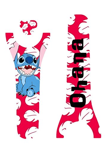 Magic Custom (Disney MagicBand Decal Sticker Skins Stitch Inspired Polynesian Themed Magic Band 2.0)