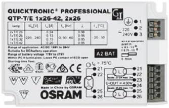 Osram QTP-T//E 1X26-42,2X26//220-240 VS20 Regulador de intensidad