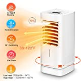 Heater,1500W Space Heater with Humidifier,12H Timer Ceramic Electric Heater, Portable Heater Fan 90° Oscillation, Overheating protection Indoor Use For Office Bathroom Bedroom Quiet