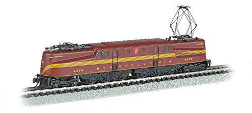 Bachmann Industries Gg 1 Dcc Ready Electric Prr #4876 N-Scale Locomotive, Tuscan 5 Stripe