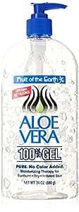 Fruit of the Earth Aloe Vera 100% Gel, 24 oz (680 g)