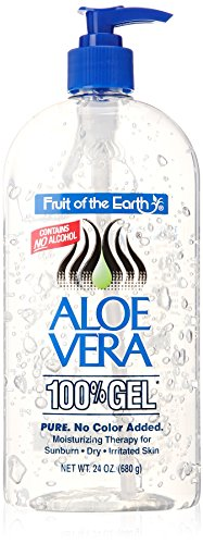 Fruit of the Earth Aloe Vera 100% Gel, 24 oz