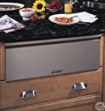 """Appliances : Dacor MRWD30S Renaissance 30"""" Warming Drawer with 500 Watt Heating Element 4 Timer Settings Plus Infinite Mode and Blue LED Light Indicator: Stainless"""