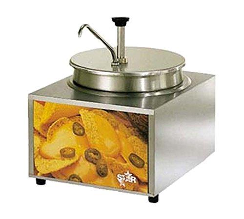 (Star Mfg. Countertop Elec. 11 Qt. Heat & Serve Cheese Warmer)