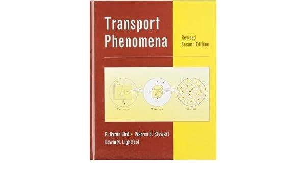 Transport Phenomena Wiley International edition (Spanish) Hardcover – Large Print, 1971