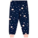 Harry Bear Girls Moon Pajamas Blue Size 10