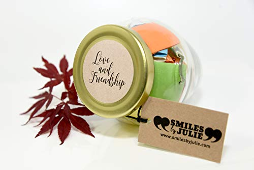 45dbe5e7914b Love   Friendship in a Jar. Month of Thoughtful   Happy Quotations for Your  Friends