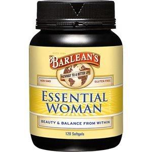 Barlean's Organic Oils Essential Woman, 120 Count Bottle