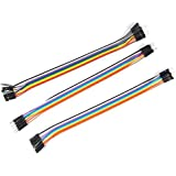 COMPONENT7 B00C743245 Jumper Wire - (10 Pin Male-Male + 10 Pin Female-Female + 10 Pin Male-Female)