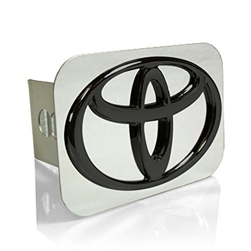 Toyota Black Logo Tow Hitch Cover (Logo Tow Hitch Plug)