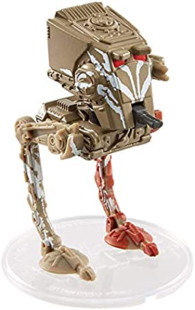 Star Wars Hot Wheels 2019 AT-ST RAIDER Mattel Starships Mandalorian Variant