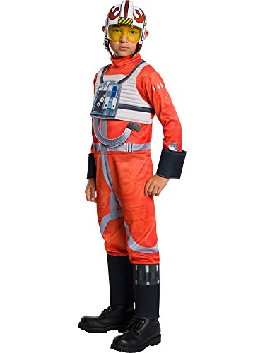 Rubie's Girls Star Wars Classic X-Wing Fighter Pilot Costume, -