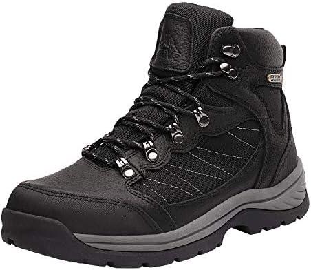 NORTIV 8 Men's Waterproof Hiking Boots Mid Ankle Hiker Mountaineering Trekking Work Boots