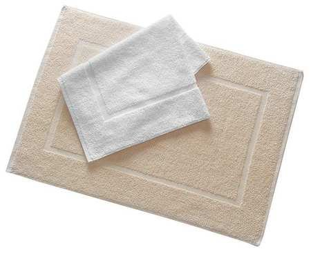 Bath Mat, Ecru, 20x30, PK12 by Martex