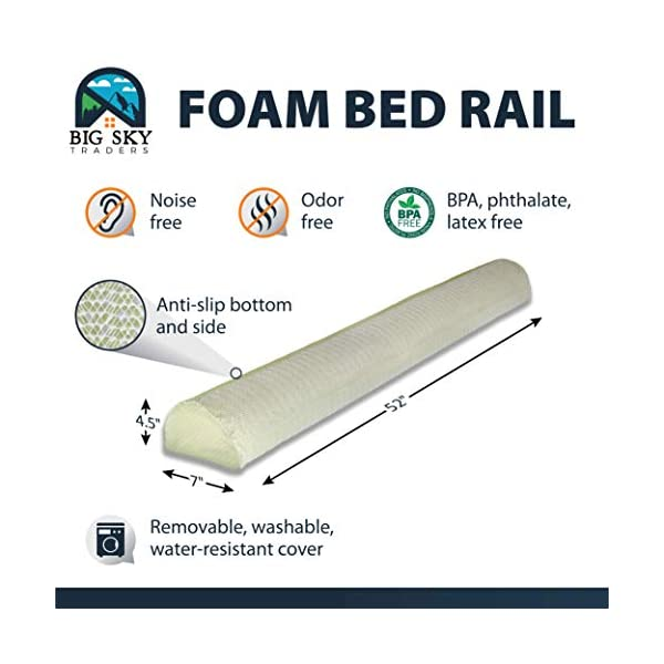 Big Sky Traders Single Foam Side Guard Rail 6