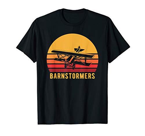 Barnstormer Plane - Biplane Barnstorming Shirt, Retro Barnstormer Tee Gift