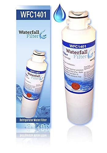 Waterfall Filter DA29-00020B Refrigerator Water Filter, Compatible with Samsung ()