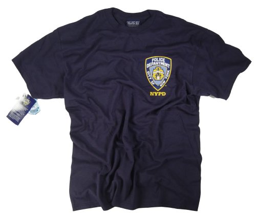 NYPD Shirt T-Shirt Clothing Sweatshirt Hoodie Badge Patch Apparel Costume XL