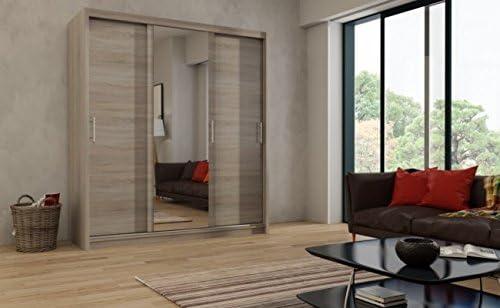 maprio grandes puertas correderas barra para colgar ropa, 250 cm ...