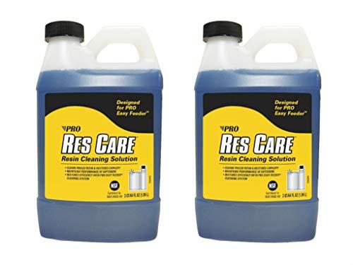 ResCare RK03B All-Purpose Water Softener Cleaner Liquid Refill, 64 oz. Bottle, 2 Pack