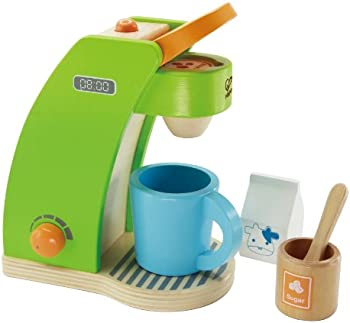 Hape Kid's Coffee Maker Wooden Play Kitchen Set